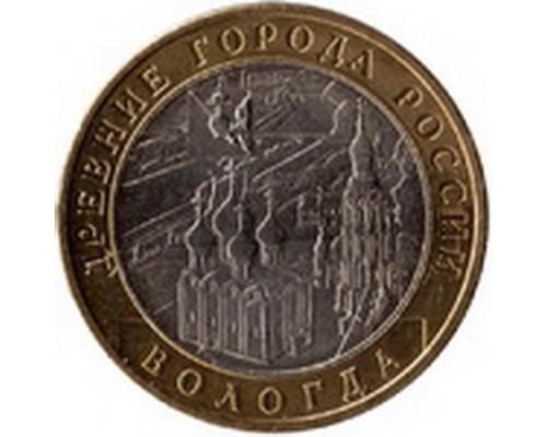 Монета 10 рублей Вологда ММД 2007г. /БЕЗ СКИДКИ/