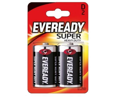 Батарейка Energizer Eveready R20-2BL