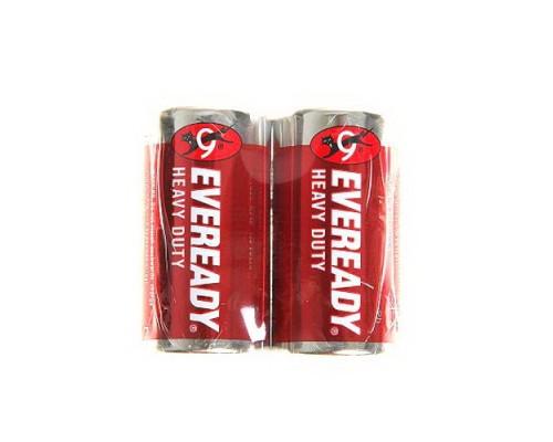 Батарейка Energizer Eveready R14-2BL Heavy Duty