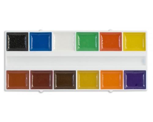 Краски акварельные 12 цветов Cullinan Зверята медовая (без кисти)