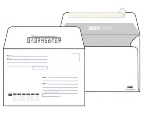 Конверт бумажный С6 162х114мм