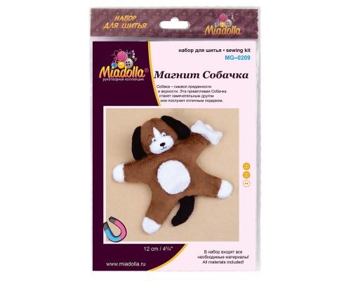 """Набор для изготовления игрушек """"Miadolla"""" Магнит Собачка"""