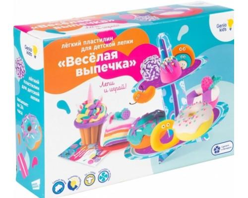 Набор для детской лепки из легкого пластилина Весёлая выпечка TA1717
